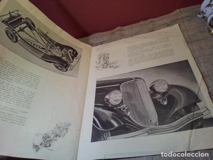 Coches y Motocicletas: CATALOGO ORIGINAL FORD PRESENTACION NUEVO OCHO CILINDROS MODELO 40--AÑOS 30 ORIGINAL - Foto 9 - 63976323