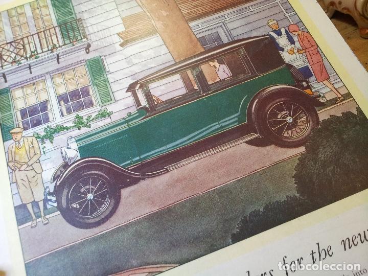 Coches y Motocicletas: antiguo cartel publicidad prensa sobre carton duro epoca- ORIGINAL AÑOS 30 . FORD- AUTOMOVILES  - Foto 3 - 63976783