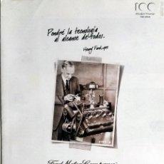 Coches y Motocicletas: CATÁLOGO ORIGINAL FORD MOTOR COMPANY - 100 AÑOS.. Lote 64298523