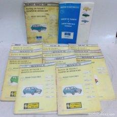 Coches y Motocicletas: MANUAL DE TALLER Y TIEMPOS DE REPARACION. 13 LIBROS. VER DESCRIPCION. Lote 67095321