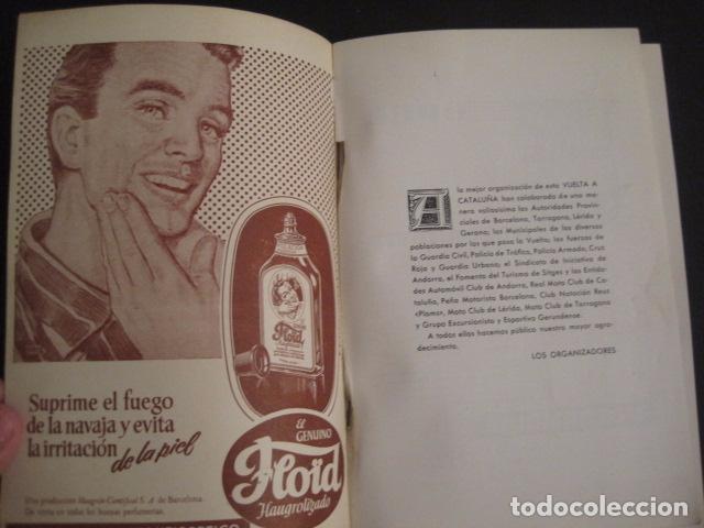 Coches y Motocicletas: REAL AUTOMOVIL CLUB DE CATALUÑA - VUELTA A CATALUÑA 1955 - INCLUYE PLANO -VER FOTOS -(V-7584) - Foto 3 - 67523989