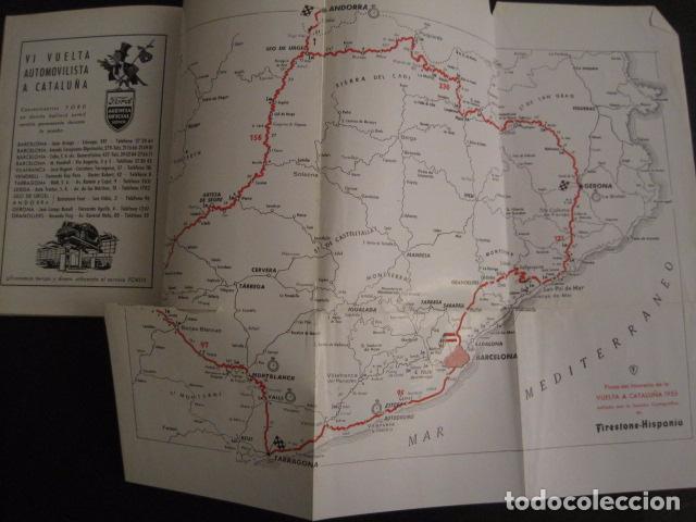 Coches y Motocicletas: REAL AUTOMOVIL CLUB DE CATALUÑA - VUELTA A CATALUÑA 1955 - INCLUYE PLANO -VER FOTOS -(V-7584) - Foto 7 - 67523989