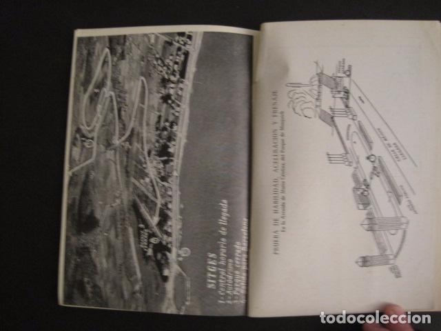 Coches y Motocicletas: REAL AUTOMOVIL CLUB DE CATALUÑA - VUELTA A CATALUÑA 1955 - INCLUYE PLANO -VER FOTOS -(V-7584) - Foto 9 - 67523989
