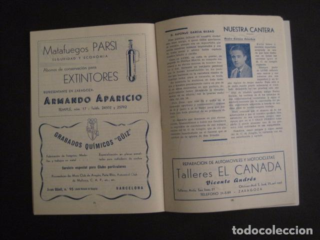 Coches y Motocicletas: I GRAN PREMIO MOTORISMO FIESTAS DEL PILAR -MOTOCLUB ARAGON -19 OCTUBRE 1952- -VER FOTOS -(V-7587) - Foto 6 - 67525501