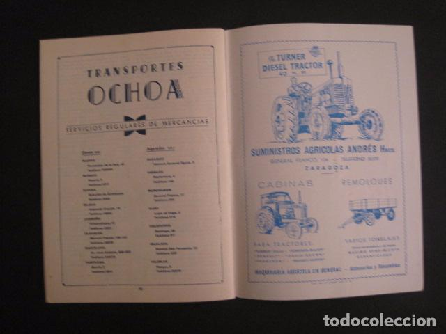 Coches y Motocicletas: I GRAN PREMIO MOTORISMO FIESTAS DEL PILAR -MOTOCLUB ARAGON -19 OCTUBRE 1952- -VER FOTOS -(V-7587) - Foto 11 - 67525501