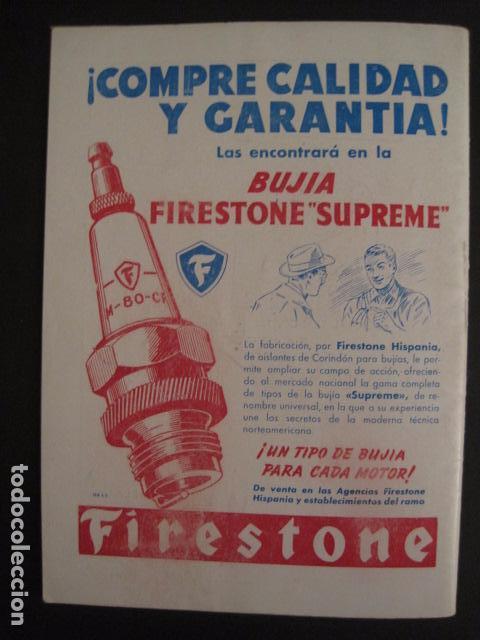 Coches y Motocicletas: I GRAN PREMIO MOTORISMO FIESTAS DEL PILAR -MOTOCLUB ARAGON -19 OCTUBRE 1952- -VER FOTOS -(V-7587) - Foto 12 - 67525501