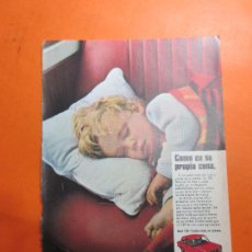 Coches y Motocicletas: PUBLICIDAD 1970 - COLECCION COCHES - SEAT 124. Lote 67730561