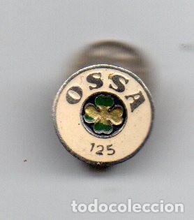 INSIGNIA OSSA 125 (Coches y Motocicletas Antiguas y Clásicas - Catálogos, Publicidad y Libros de mecánica)