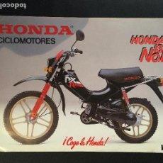 Coches y Motocicletas: FOLLETO CATALOGO PUBLICIDAD ORIGINAL HONDA PXR PX PA CICLOMOTORES. Lote 67921777