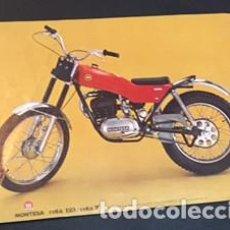 Coches y Motocicletas: FOLLETO CATALOGO PUBLICIDAD ORIGINAL MONTESA COTA 123 COTA 74. Lote 68380425
