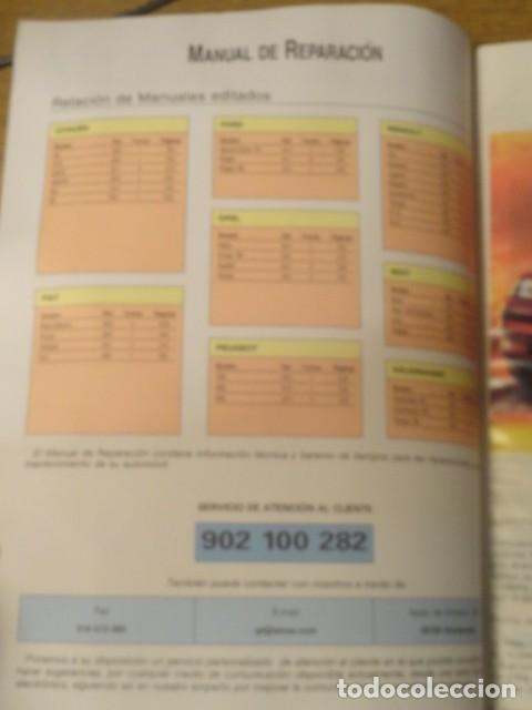 Coches y Motocicletas: MANUAL DE REPARACION FIAT PUNTO GUIA DE TASACIONES EDICION 1999 - Foto 2 - 68405377