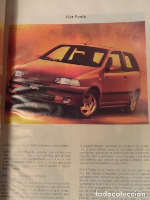 Coches y Motocicletas: MANUAL DE REPARACION FIAT PUNTO GUIA DE TASACIONES EDICION 1999 - Foto 3 - 68405377