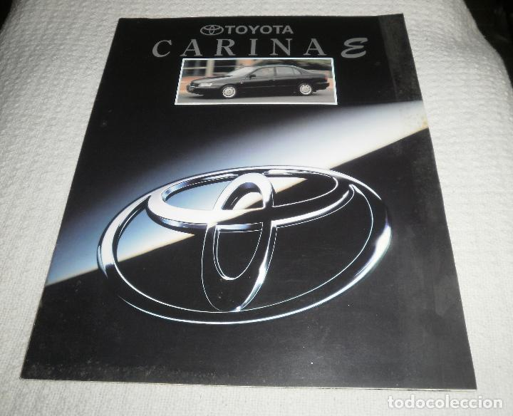 FOLLETO/CATÁLOGO DE COCHES. TOYOTA CARINA E. AÑOS 90, 15 PAGS (Coches y Motocicletas Antiguas y Clásicas - Catálogos, Publicidad y Libros de mecánica)