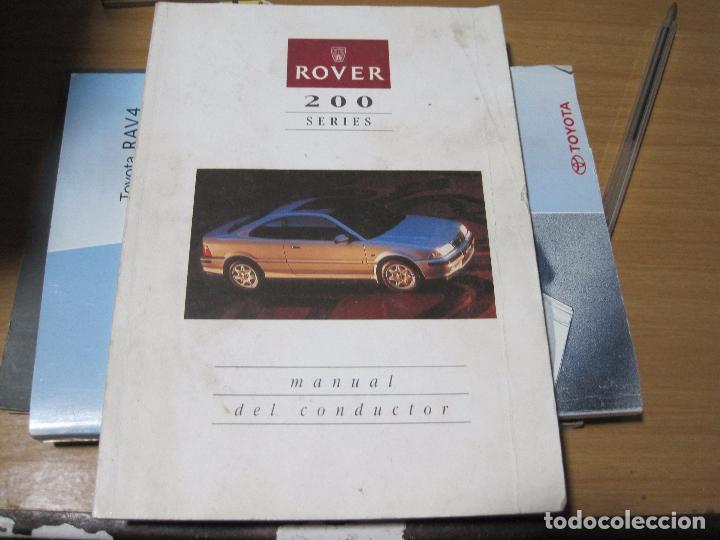 manual instrucciones manual propietario rover comprar cat logos rh todocoleccion net rover 200 repair manual rover 200 manual pdf