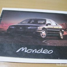 Coches y Motocicletas: CATALOGO FOLLETO FORD MONDEO. Lote 147375824