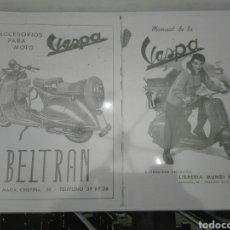 Coches y Motocicletas: LIBRO VESPA. Lote 68839254