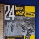 Coches y Motocicletas: (CAT-161203)PROGRAMA OFICIAL 24 HORAS MOTOCICLISTAS DE MONTJUICH,5-6 JULIO 1958. Lote 69056877