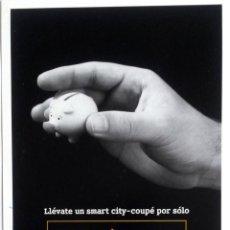 Coches y Motocicletas: CATÁLOGO ORIGINAL SMART CITY-COUPÉ.. Lote 69060809