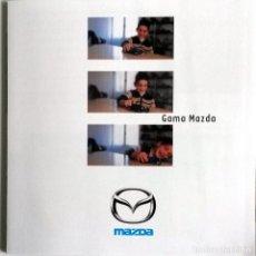 Coches y Motocicletas: CATÁLOGO ORIGINAL GAMA MAZDA.. Lote 69061833