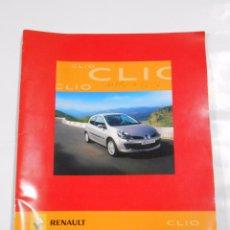 Coches y Motocicletas: RENAULT CLIO MANUAL PUBLICITARIO. TDKR27. Lote 69278853