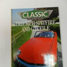 Coches y Motocicletas: GRAHAM ROBSON TRIUMPH SPITFIRE AND GT6 FILE. Lote 69443765