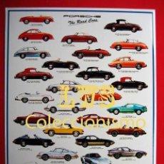 Coches y Motocicletas: PORSCHE VARIOS MODELOS PUBLICIDAD IMAGENES - AUTOMOVILES COCHES, MOTOR. Lote 107019859
