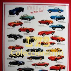 Coches y Motocicletas: FERRARI VARIOS MODELOS PUBLICIDAD IMAGENES - AUTOMOVILES COCHES MOTOR. Lote 107019874