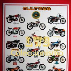 Coches y Motocicletas: BULTACO MODELOS PUBLICIDAD IMAGENES - MOTOCICLISMO MOTOS MOTOR. Lote 194675150