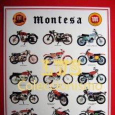 Coches y Motocicletas: MONTESA MODELOS PUBLICIDAD IMAGENES - MOTOCICLISMO MOTOS MOTOR. Lote 194675130