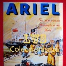 Coches y Motocicletas: ARIEL PUBLICIDAD IMAGENES - MOTOCICLISMO MOTOS MOTOR. Lote 69677069