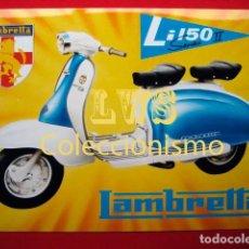 Coches y Motocicletas: LAMBRETTA LI 150 PUBLICIDAD IMAGENES - MOTOCICLISMO MOTOS MOTOR. Lote 69677649