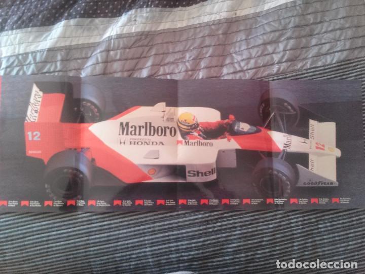Formula 1 Calendario.Calendario Grand Prix 89 Marlboro Formula 1 70 Cm De Largo 20 De Ancho Rarisimo
