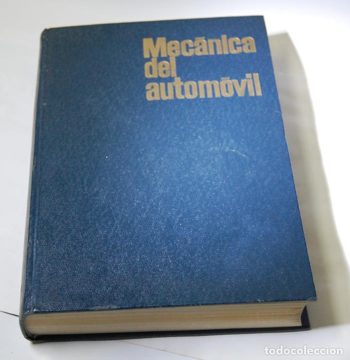 LIBRO MECANICA DEL AUTOMOVIL MARCOMBO W H CROUSE (Coches y Motocicletas Antiguas y Clásicas - Catálogos, Publicidad y Libros de mecánica)