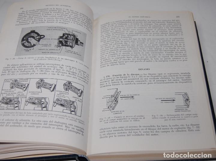 Coches y Motocicletas: LIBRO MECANICA DEL AUTOMOVIL MARCOMBO W H CROUSE - Foto 3 - 70254877