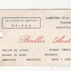 Coches y Motocicletas: (ALB-TC-5) ANTIGUA ETIQUETA CAMBIO ACEITE FILTROS 1978. Lote 70560905