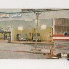 Coches y Motocicletas: (ALB-TC-5) ANTIGUA ETIQUETA CAMBIO ACEITE FILTROS 1980. Lote 70560997