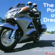 Coches y Motocicletas: CATÁLOGO GENERAL MOTOCICLETAS HONDA AÑO 2002. Lote 70943949