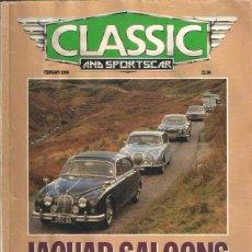 Coches y Motocicletas: CLASSIC & SPORTS CAR: JAGUAR SALOONS; ALFA ROMEO GIULIETTA SPRINT; ALFA ROMEO SPIDER; ETC.... Lote 71148577