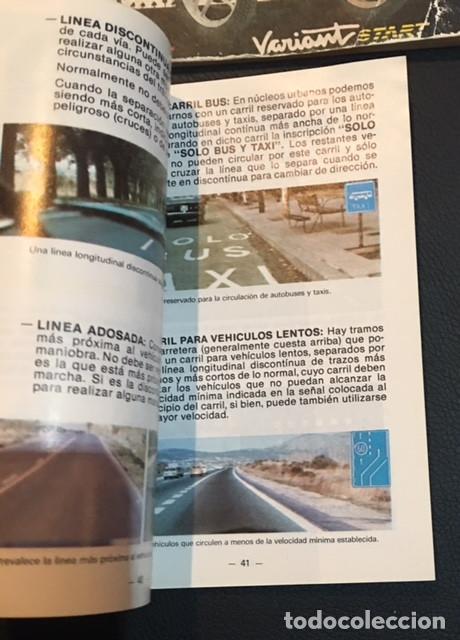Coches y Motocicletas: LOTE MANUAL DE INSTRUCCIONES DEL CICLOMOTOR AUTOMATICO DERBI VARIANT SPORT START - Foto 3 - 72058275