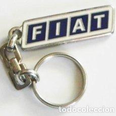 Coches y Motocicletas: LLAVERO - FIAT - LOGOTIPO DE COCHE - PUBLICIDAD - DE METAL - LOGO -- OTROS DE FIAT EN VENTA. Lote 72276619