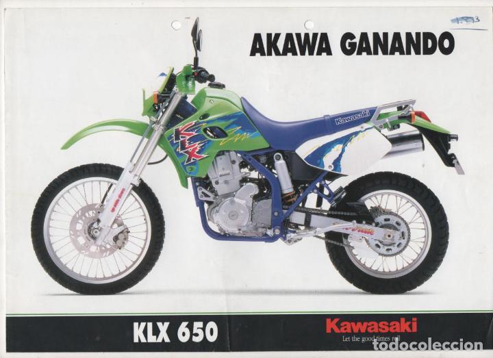 Tc 12 Catalogo Diptico Moto Kawasaki Klx 650 Buy Catalogs