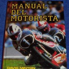 Coches y Motocicletas: MANUAL DEL MOTORISTA - DAVID MINTON - EVEREST (1983). Lote 72429927