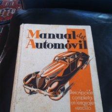 Coches y Motocicletas: MANUAL DEL AUTOMÓVIL AÑO 1940. Lote 72766674