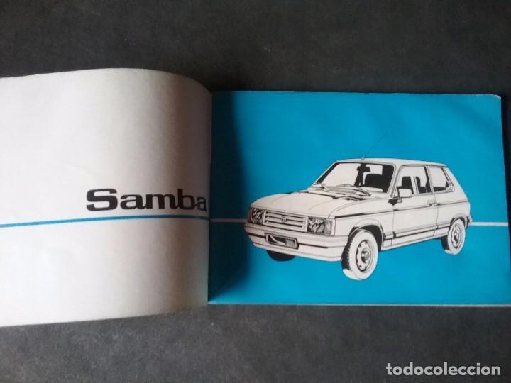TALBOT SAMBA , MANUAL ORIGINAL. (Coches y Motocicletas Antiguas y Clásicas - Catálogos, Publicidad y Libros de mecánica)