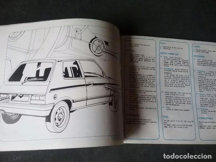 Coches y Motocicletas: Talbot Samba , manual original. - Foto 3 - 73540111