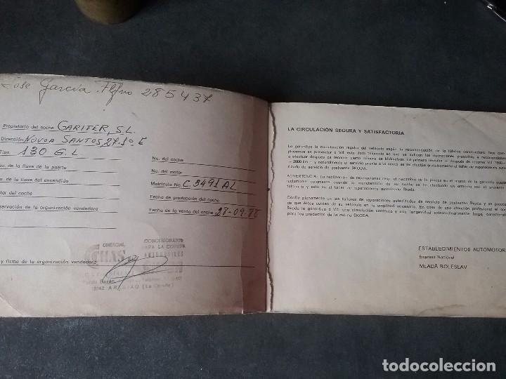 Coches y Motocicletas: Skoda , manual original - Foto 2 - 73544499