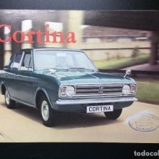 Coches y Motocicletas: FOLLETO CATÁLOGO PUBLICITARIO FORD CORTINA. SUPER, CORTINA GT, 1600 E, ESTATE CAR, CORTINA LOTUS. Lote 73571863