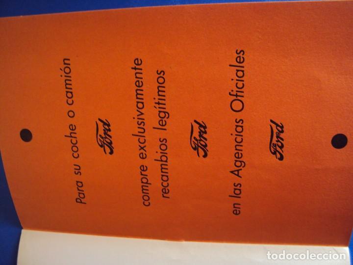 Coches y Motocicletas: (CAT-170125)TARIFA OFICIAL DE REPARACIONES FORD MODELOS 8 HP y 10,AÑOS 20,CASTELLANO,11 PAGINAS - Foto 9 - 73661119