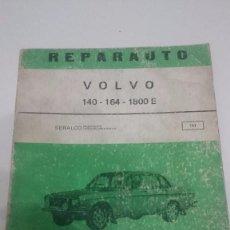 Coches y Motocicletas: REPARAUTO-VOLVO,140,164,100E- MANUAL DE REPARACION ATIKA -MADRID-1972. Lote 73731755