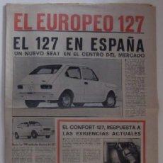 Coches y Motocicletas: CATALOGO PUBLICITARIO DEL SEAT 127 EN ESPAÑA - AÑO 1972. Lote 73756787